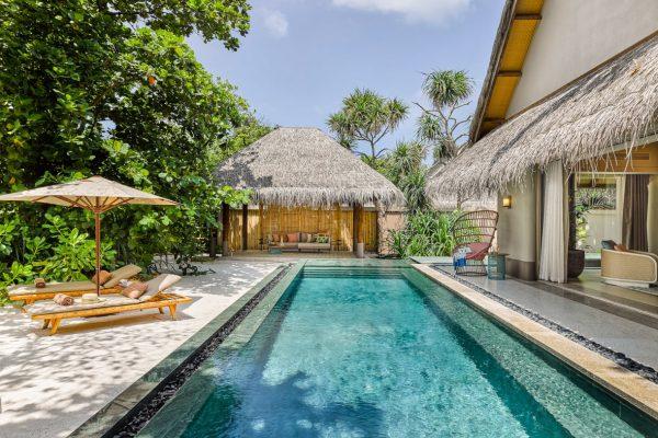 Beach Villa with Pool Outdoor