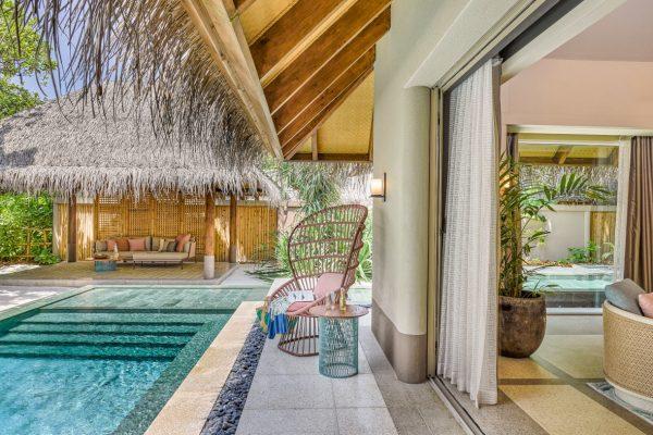 Beach Villa with Pool Terrace