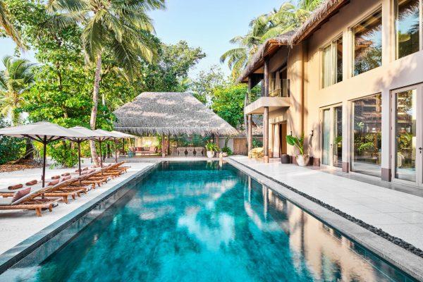 Four Bedroom Beach Residence Pool