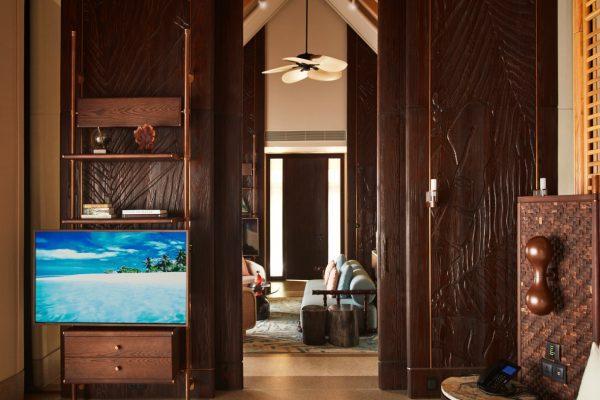 Luxury Beach Villa with Pool Interior