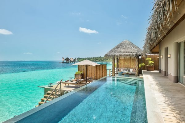 Sunset Water Villa with Pool Outdoor
