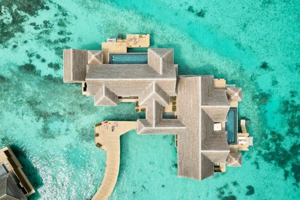 Three Bedroom Ocean Residence with 2 Pools - Aerial View 1