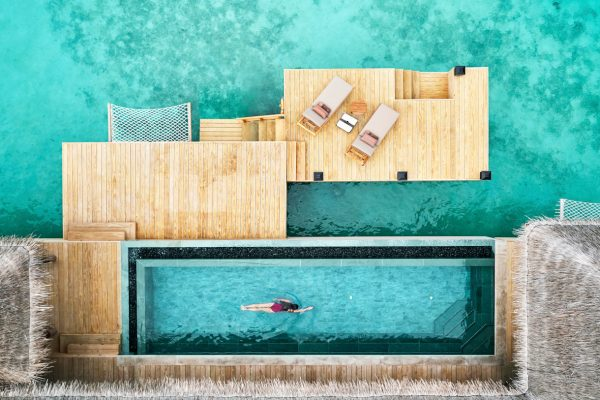 Three Bedroom Ocean Residence with 2 Pools - Aerial View