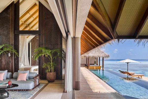 Three Bedroom Ocean Residence with 2 Pools Terrace 1