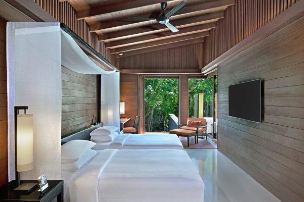 insel-seite-park-hyatt-maldives-2-bedroom-park-pool-villa-twin-room-Maledivenexperte