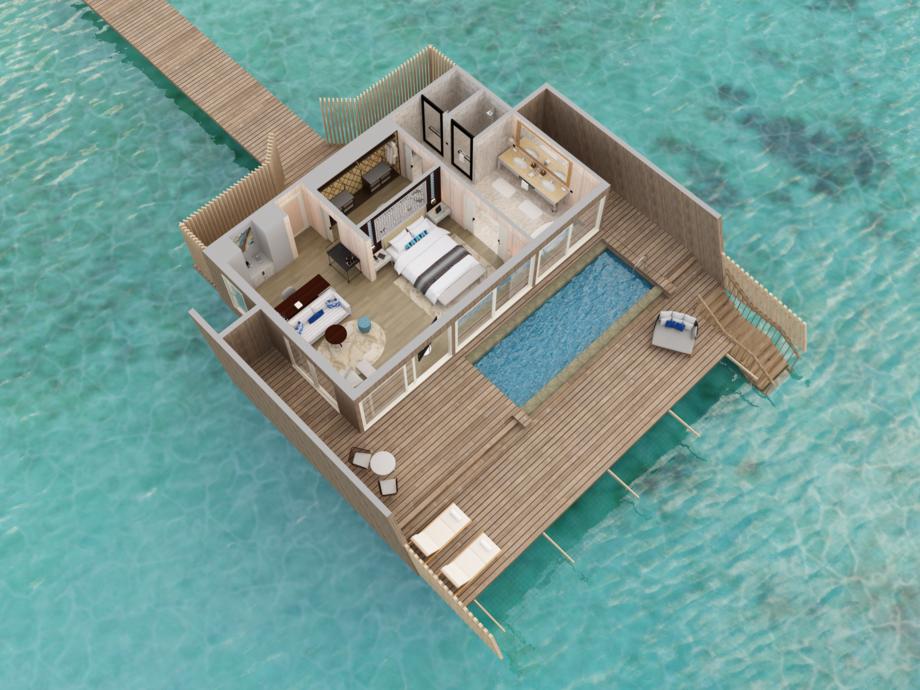 The St. Regis Maldives Vommuli Resort - Malediven Inseln ...