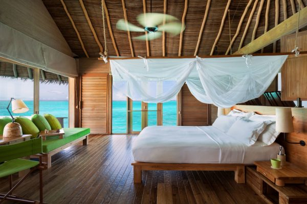 Ocean Villa Interior Six Senses Laamu The Maldives