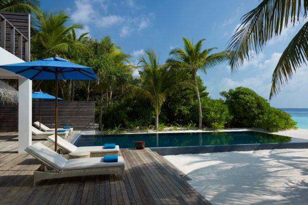 Beach residence pool