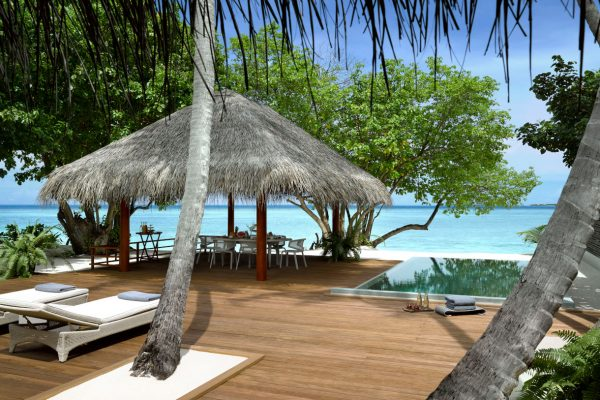 accommodation two bedroom beach villa