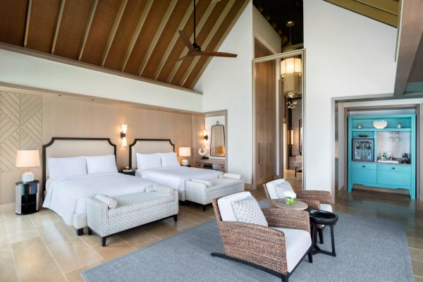waldorf-astoria-maldives-ithaafushi-two-and-three-bedroom-villa-queen-bedded-bedroom-Maledivenexperte