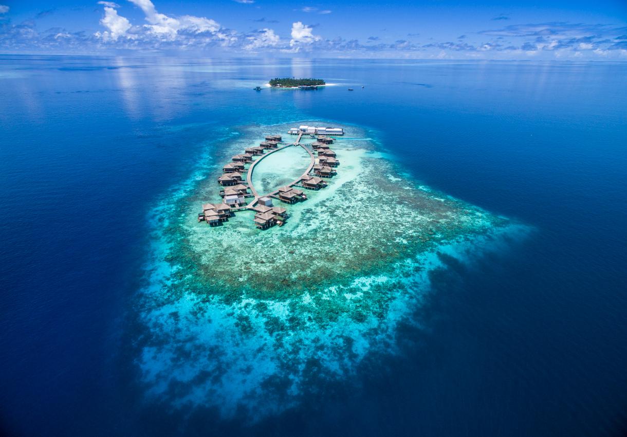 Neues Raffles Resort eröffnet auf den Malediven