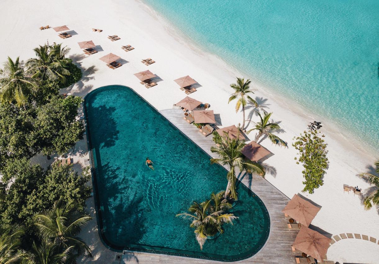 Joali Maldives – Alexander Williamson für uns im Paradies